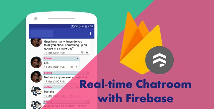 Building Real-time Android Chatroom With Firebase - Mendhie