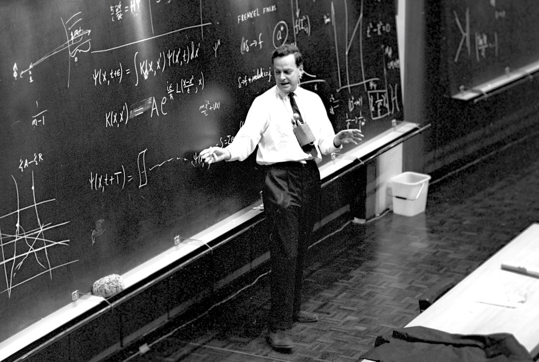 Richard Feynman on the Differences between Mathematics and Physics