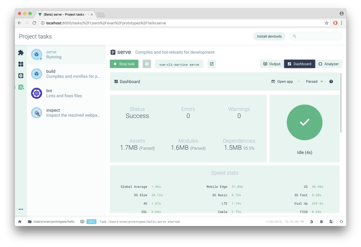 Vue CLI 3.0 is here!