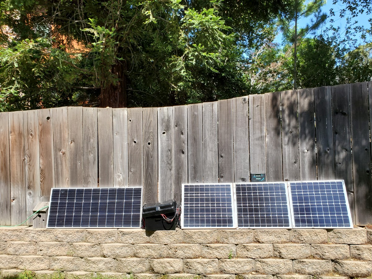 I'm Charging All My Gadgets With a DIY Solar Microgrid