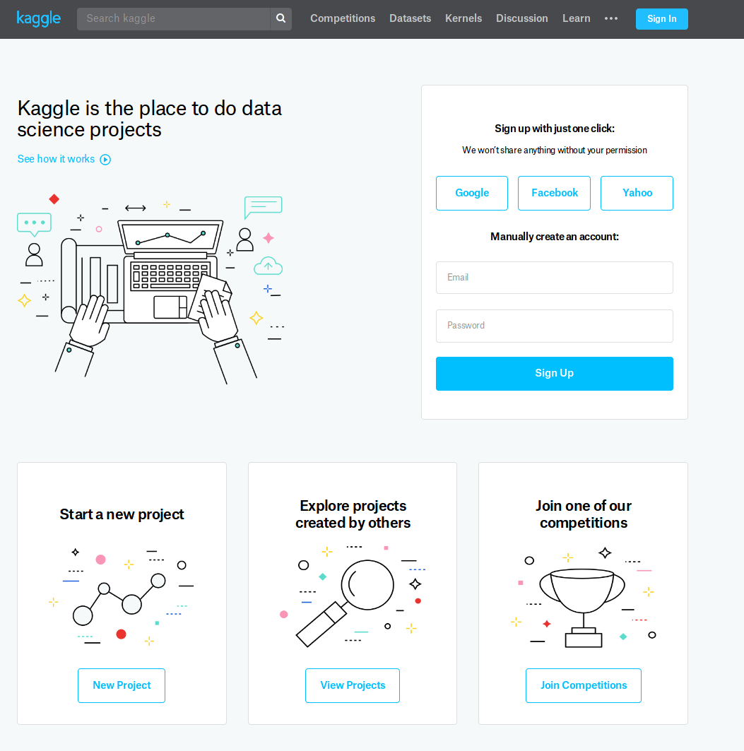 Use Kaggle to start (and guide) your ML/ Data Science journey — Why