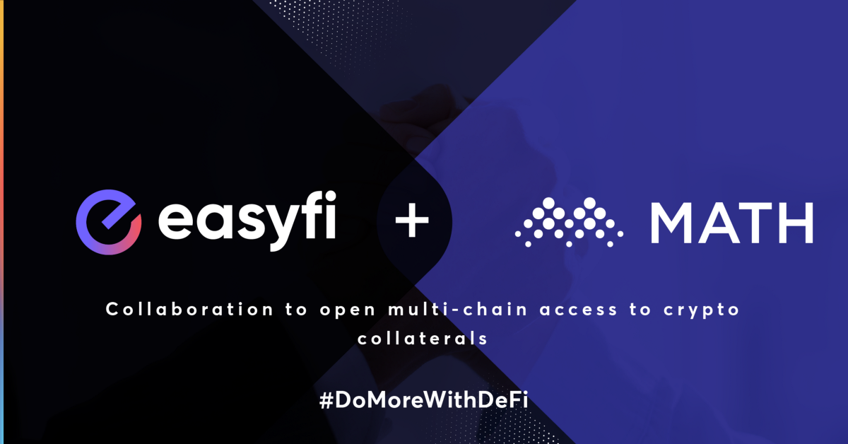 Math Wallet formed partnership with EasyFi to provide multi-chain access to digital assets on L2…