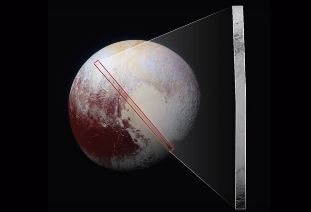 Fly over NASA's greatest ever view of Pluto