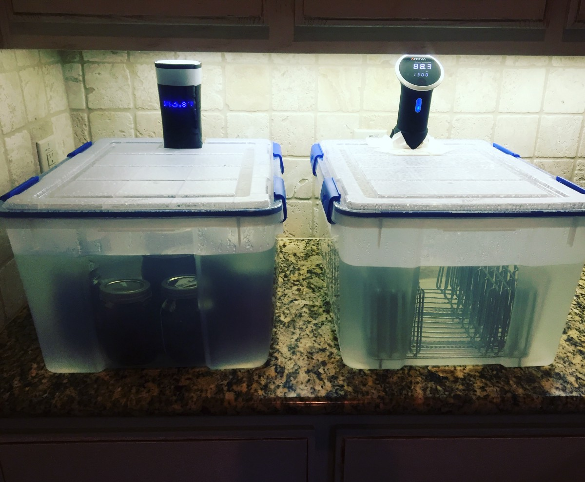diy sous vide water bath for under 20 sous vide medium. Black Bedroom Furniture Sets. Home Design Ideas