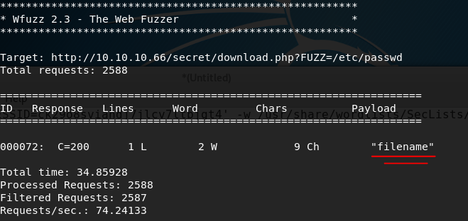 Web Application Fuzzing - HacktheBoxWalkthroughs - Medium