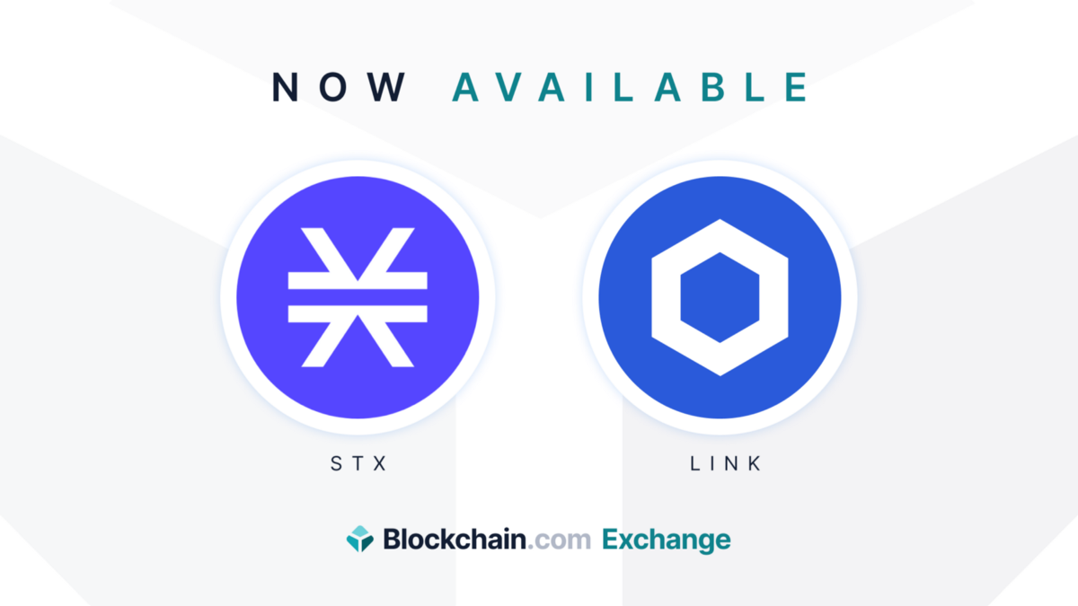 Now available on Blockchain.com: Chainlink (LINK) and Stacks (STX)   by Amadeo Pellicce   @blockchain   Jul, 2021