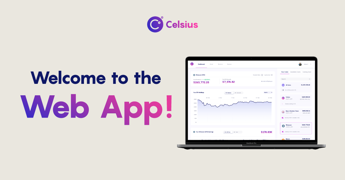 Welcome to the Celsius Web App!
