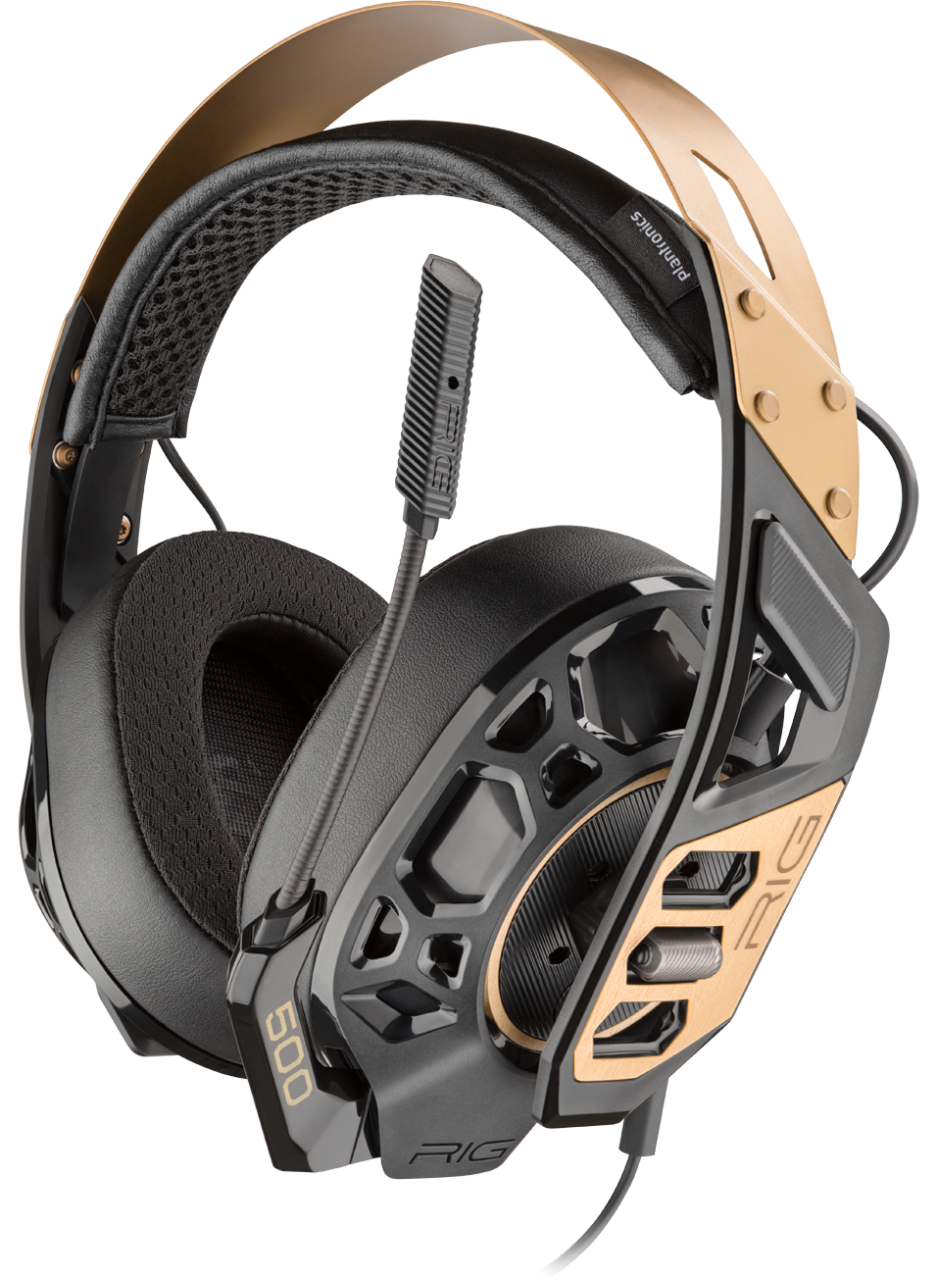 Plantronics RIG 500 Pro Gaming Headset Review and Mic Tests