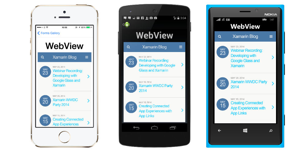 Using Javascript to retrieve values from a Xamarin Forms WebView