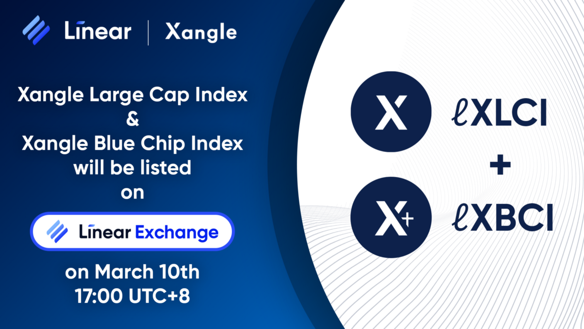 Linear to launch Xangle Large Cap & Xangle Blue Chip index's