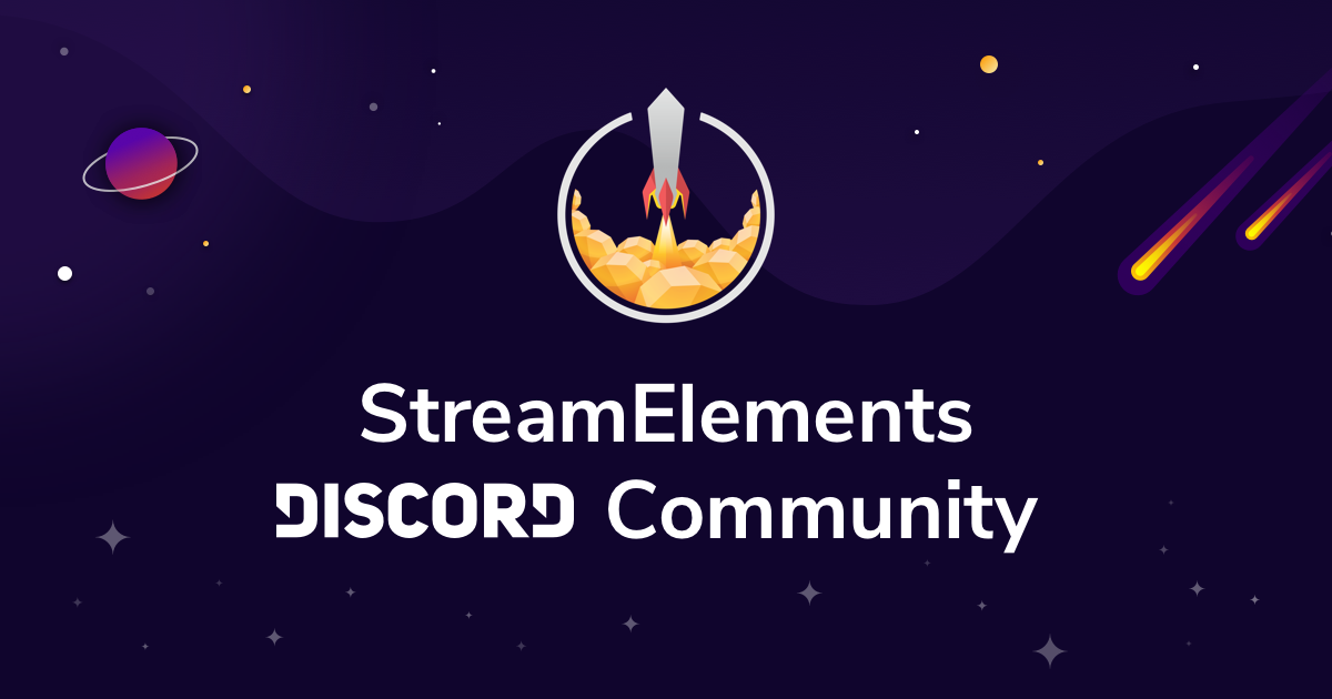 StreamElements Discord Community: Not Just A Simple Server