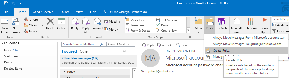 How to Automatically Forward Email from Office 365 to another Email