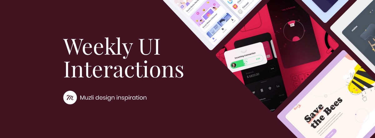 UI Interactions of the week #181