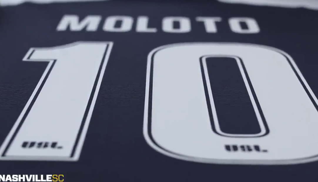 size 40 665dc 4352d Lebo Moloto is going to wear the №10 shirt for Nashville SC ...