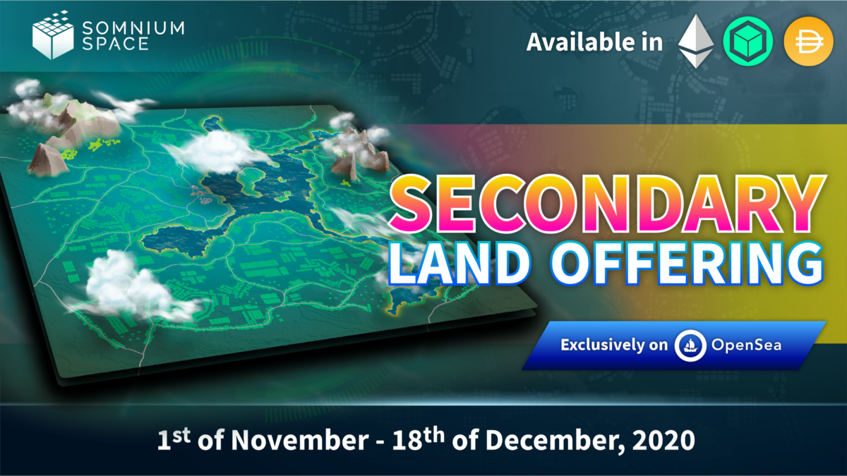 ️Announcing Secondary Land Offering dates + SLO Rewards!