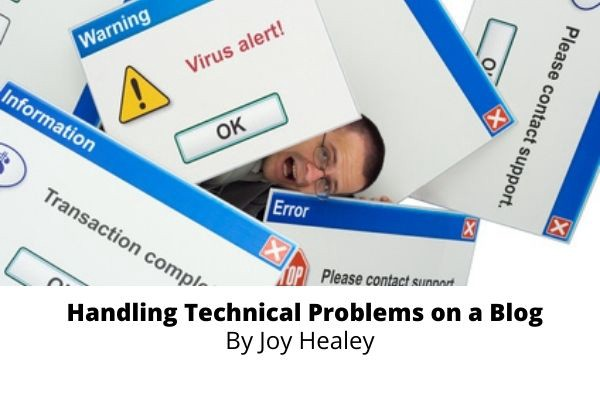 Handling Technical Problems on a Blog—Image purchased from Fotolia