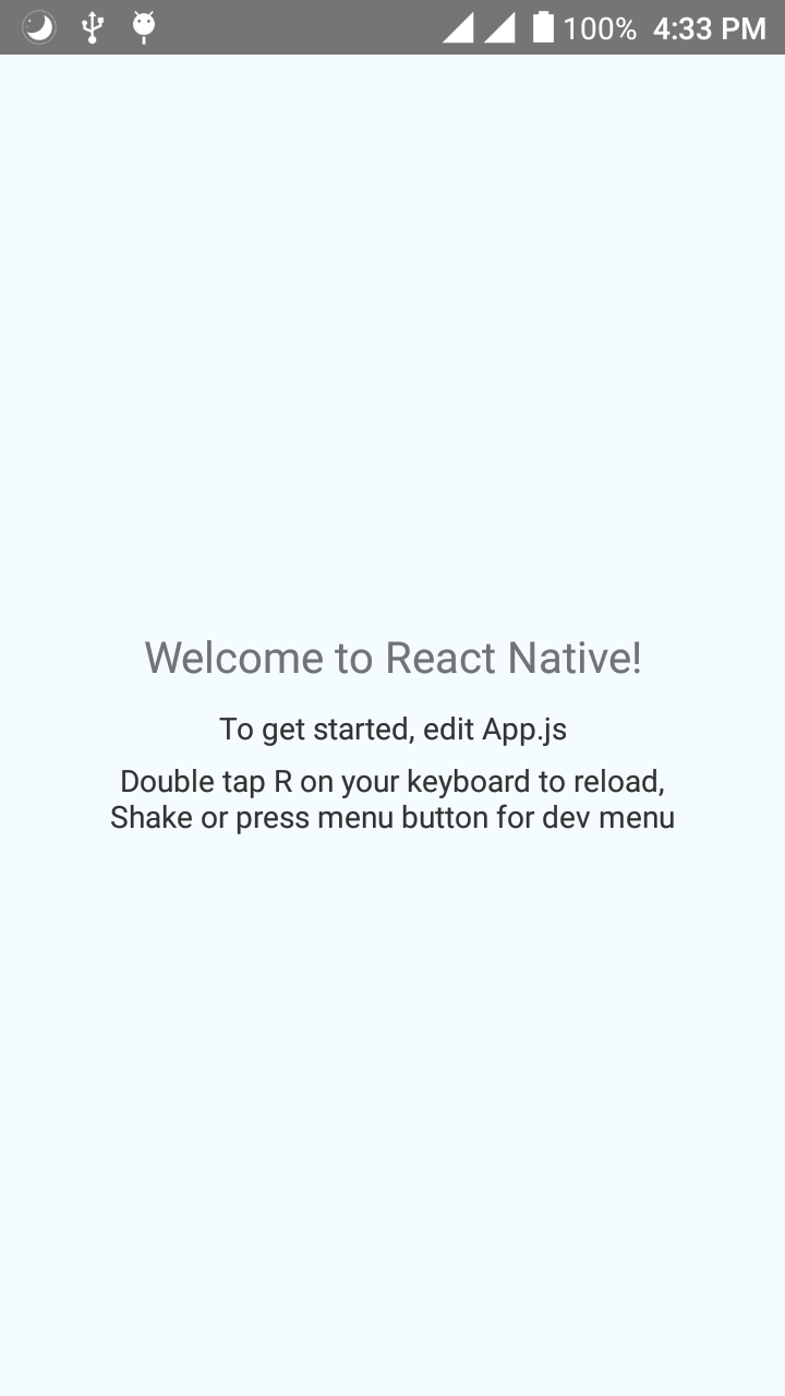 """Say """"Hello world"""" using React Native in Linux - Code Like A Girl"""