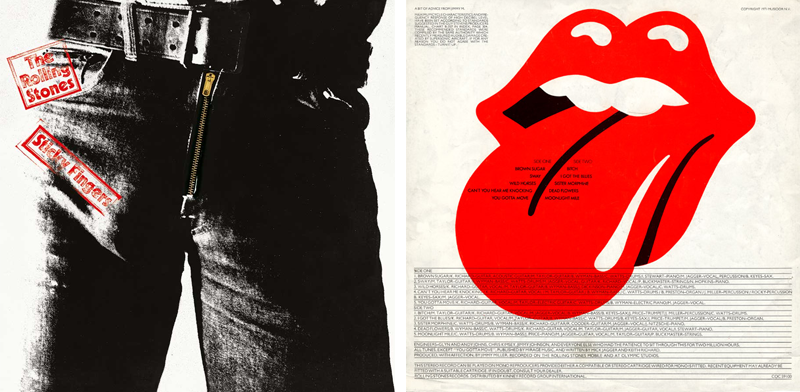 Rolling Stones Tongue & Lips Design — John Pasche (1969)