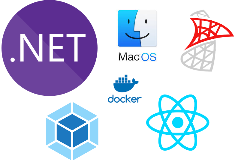 How to set up a full-stack  NET web development environment on Mac OS