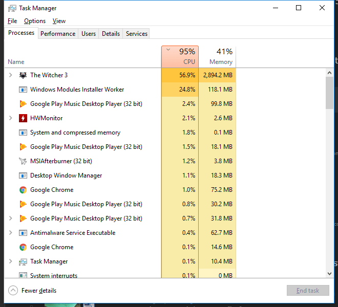 How to fix ntoskrnl exe high cpu usage on Windows 10