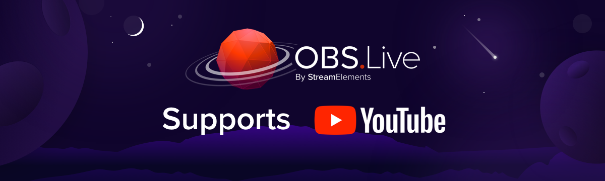 How to Stream on YouTube with OBS Live - StreamElements