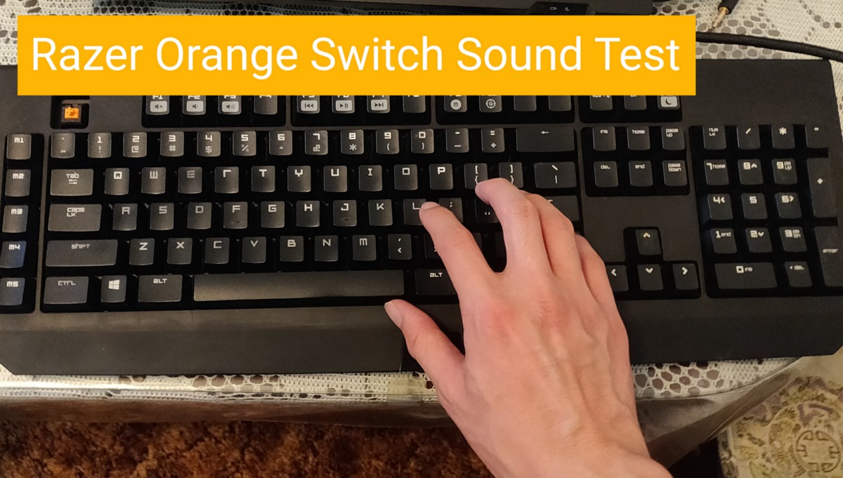 Razer Orange Switch Sound Test This Is A Sound Test For Razer Orange By Jason Medium