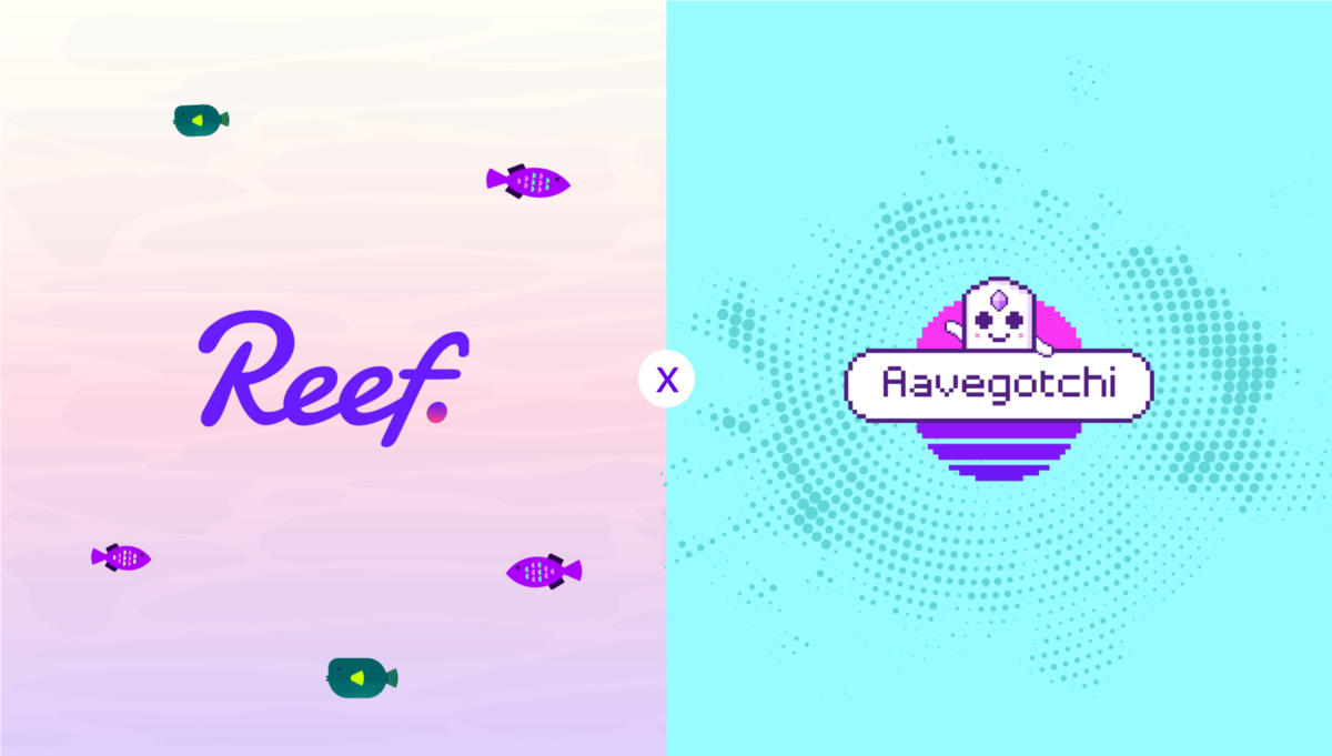 Reef Finance joins forces with Aavegotchi as the first NFT Partnership