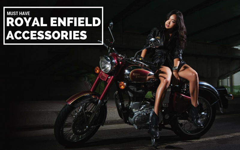 Top 10 must have Royal Enfield motorcycle accessories you need