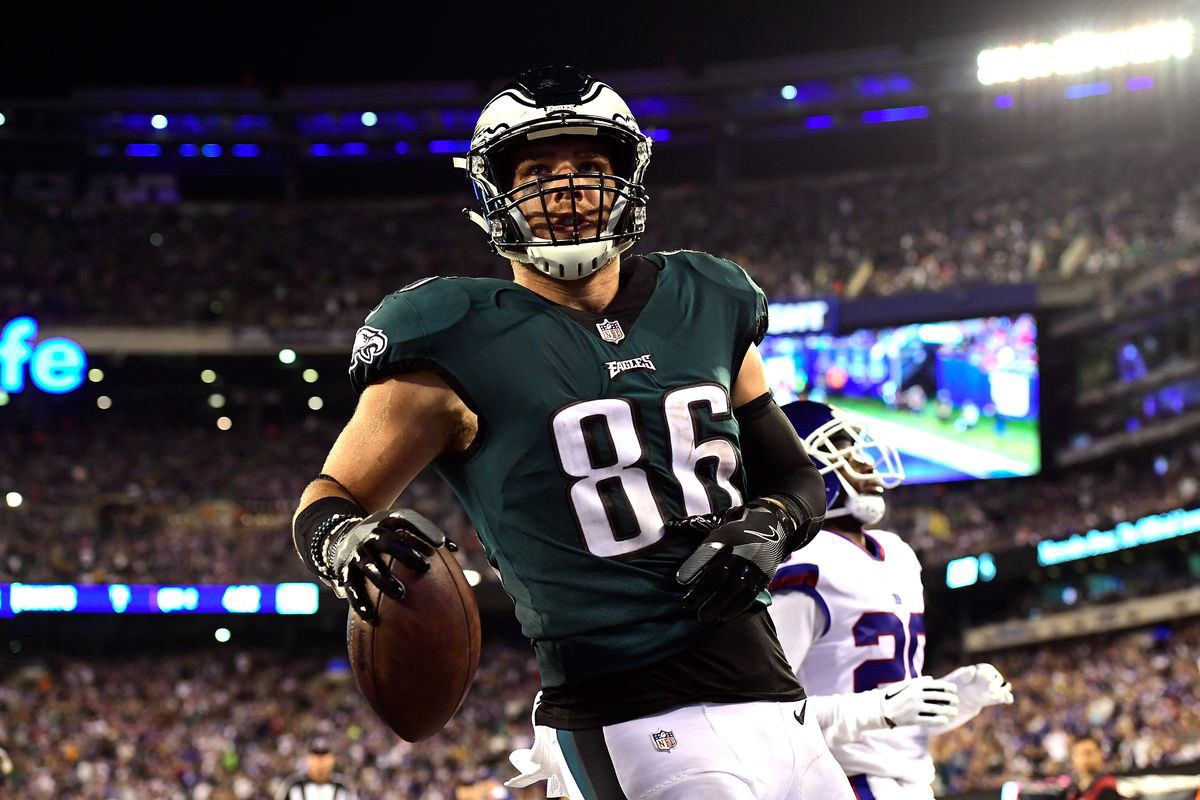 quality design 53e84 d918c Sports Stars Making a Social Impact: Zach Ertz of the ...