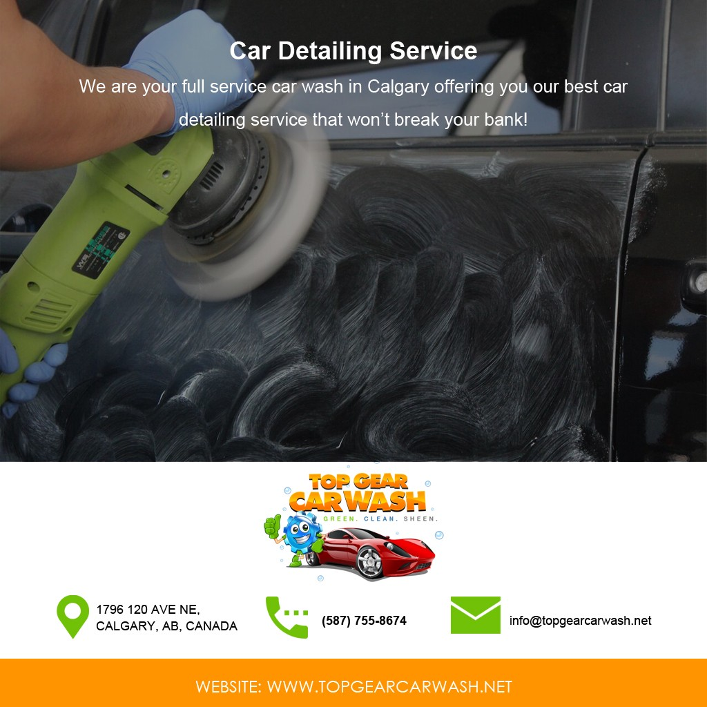 A Full Service Car Wash In Calgary Launches Car Detailing Service