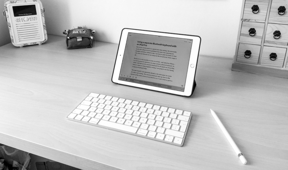 How I'm using Apple's Magic Keyboard with my iPad Pro to write more
