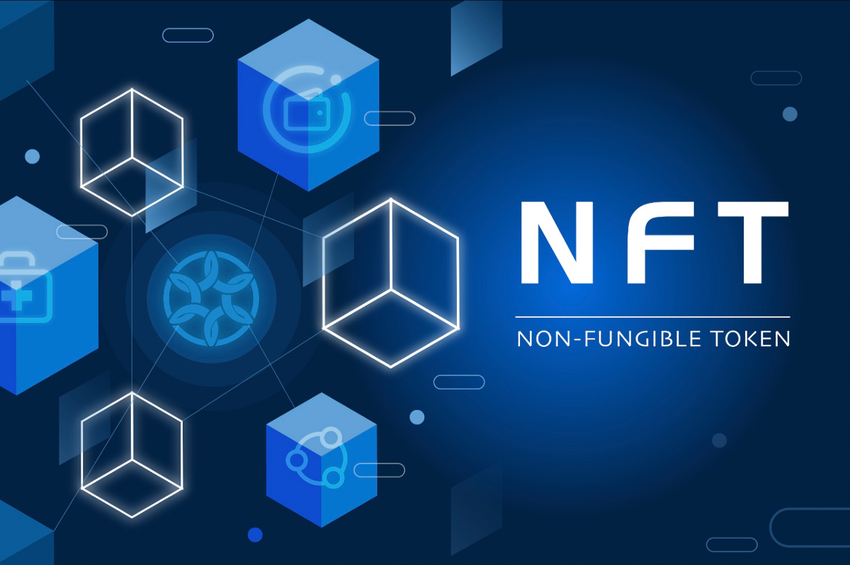 NFT is just the digital collectible on the public blockchain?