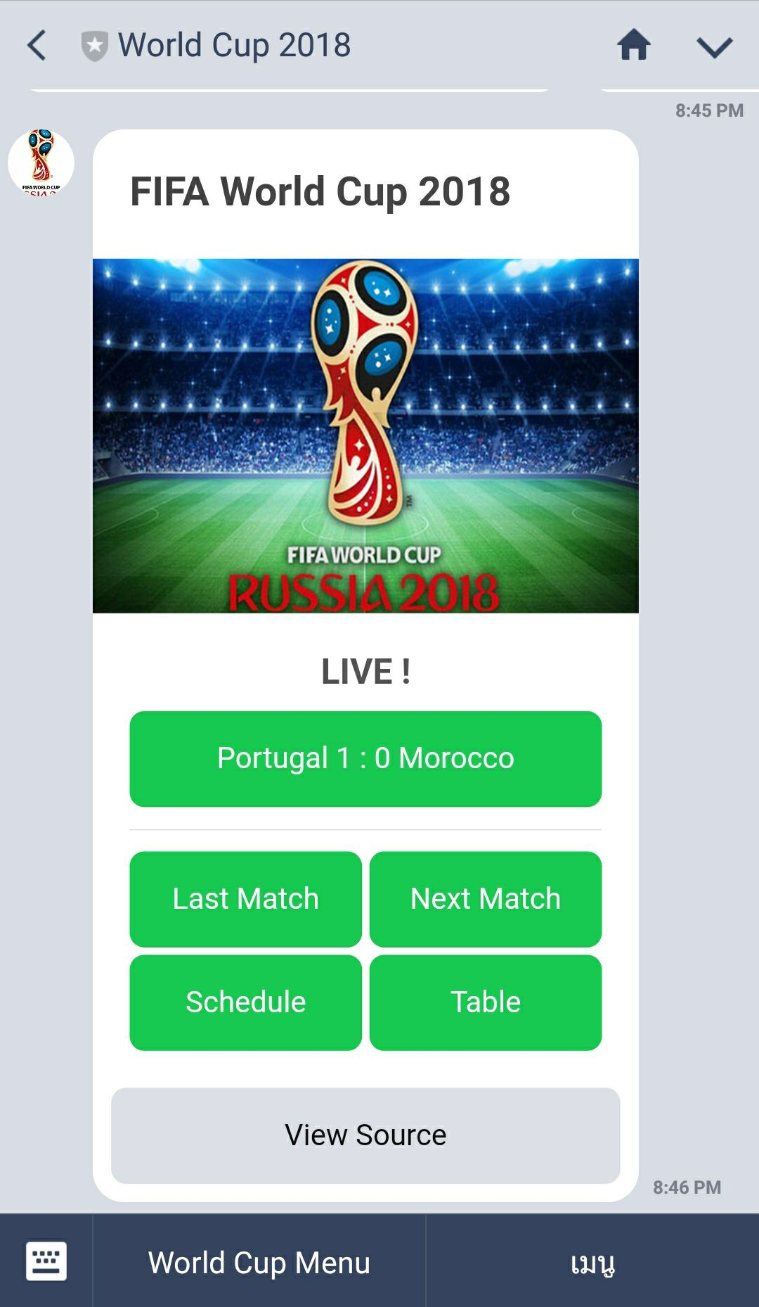 Using Flex Message to create World Cup LINE Bot - LINE Developers
