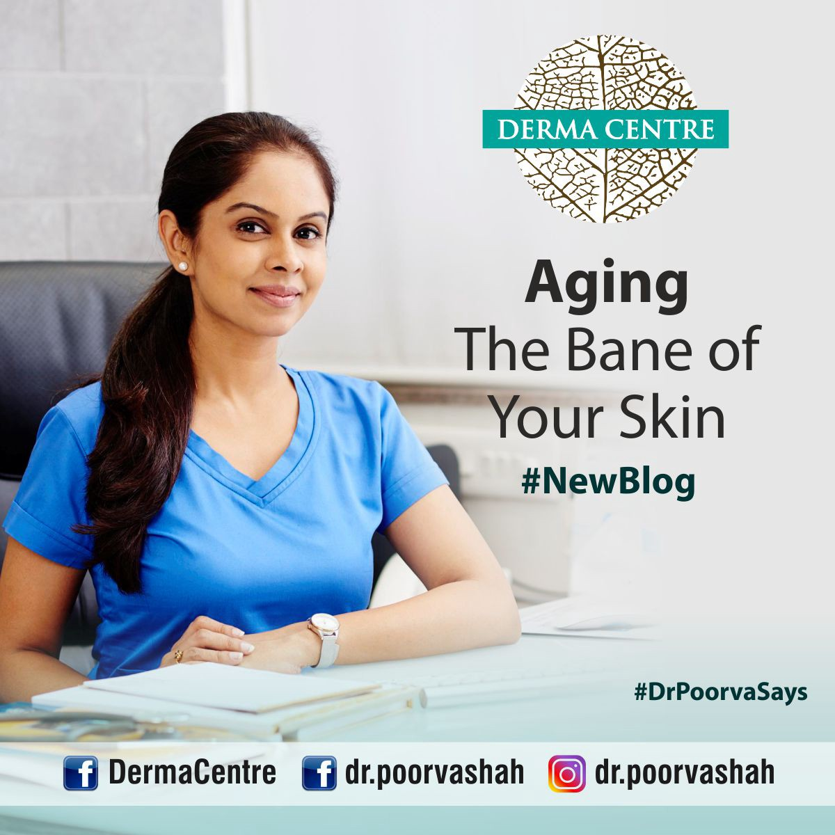 Aging- The Bane of your Skin - Derma Centre by Dr  Poorva Shah - Medium