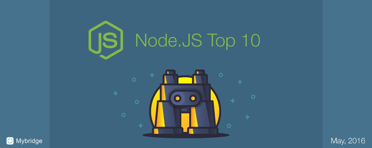 Top 10 Node.JS Articles for the Past Month. (v.May)