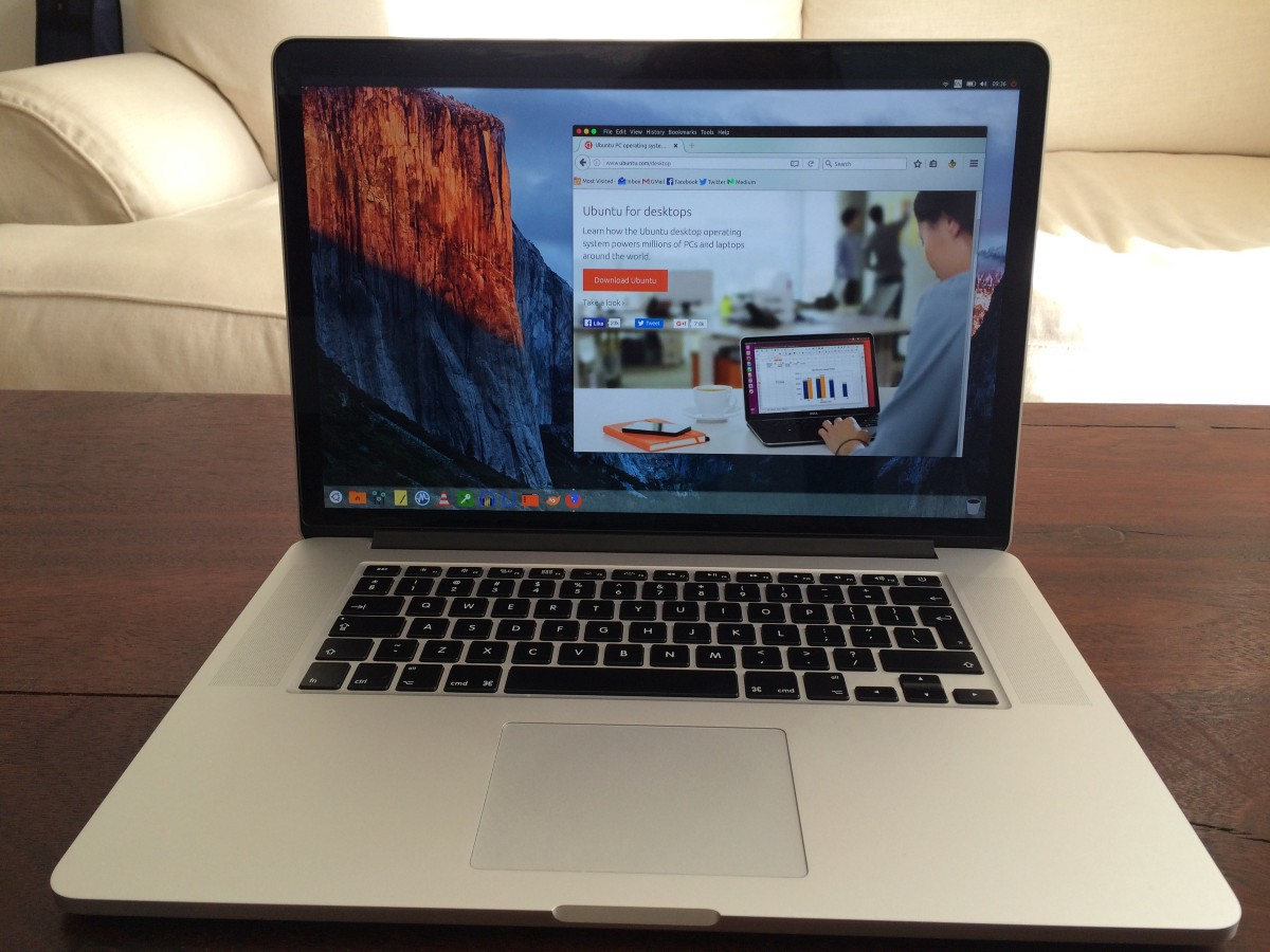 How to Install Ubuntu 16 04 on a Retina MacBook Pro 11,2