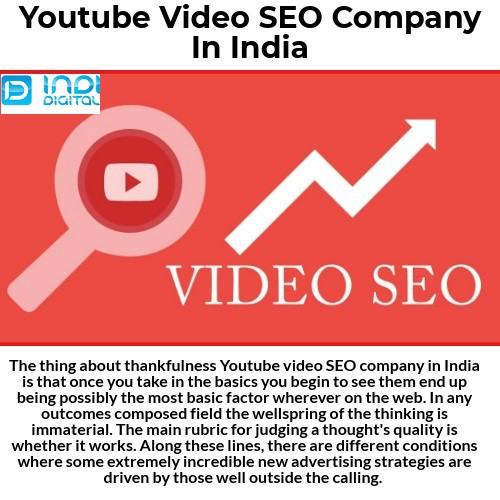 Find the best Youtube video SEO company in India - Awesome