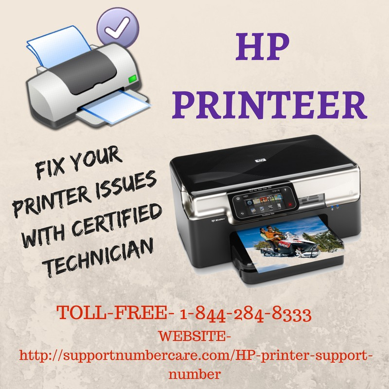 HP Printer Customer Support Number | Toll Free: 1–844–284–8333