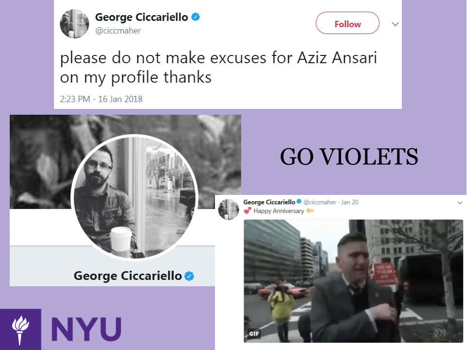 """Professor Who Wished for """"White Genocide"""" on Twitter is a Visiting"""