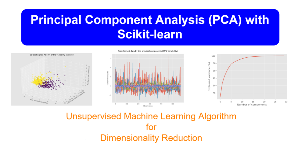 Principal Component Analysis (PCA) with Scikit-learn