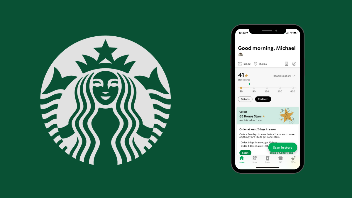 Why the Starbucks app is design perfection | by Michael Beausoleil | Mar,  2021 | UX Collective