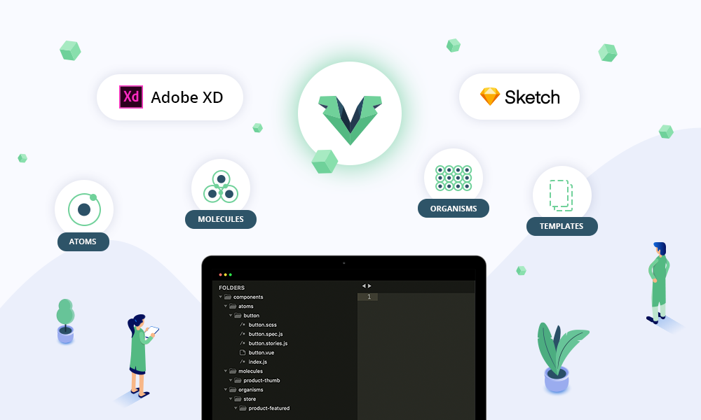 Finding the perfect component file structure for our VueJS App