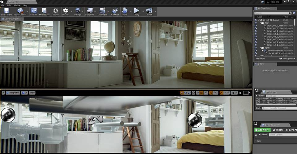 OctaneRender will be coming to UnrealEngine 4 in the first