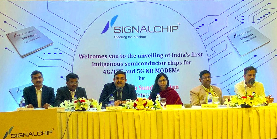 Signalchip launches India's first 4G/LTE and 5G NR Modem Chips