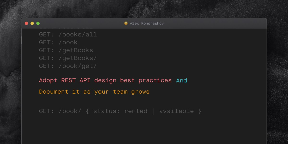 Improve your API design by following this simple step