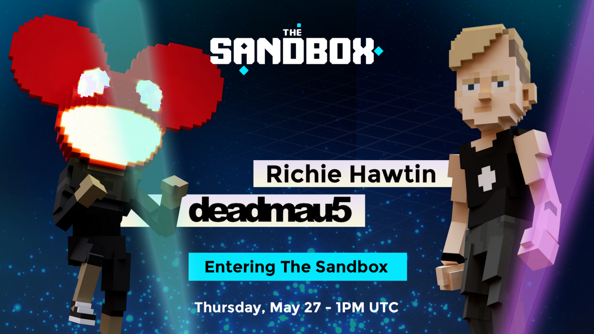 The Sandbox to feature Richie Hawtin and deadmau5 in hot new metaverse collaboration