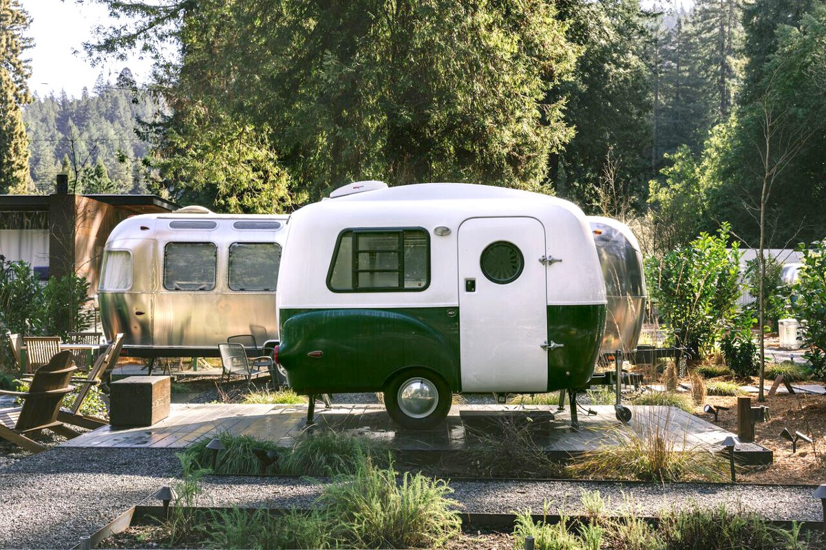 8 glorious glamping destinations within two hours' drive of Silicon Valley
