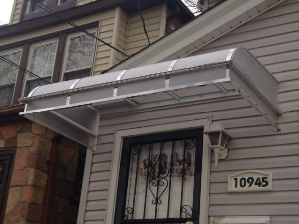 Lexan Polycarbonate Awnings - Elite Awning Builder's - Medium