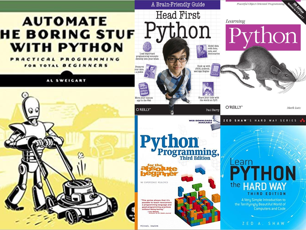 Top 5 Python Books to learn in 2020