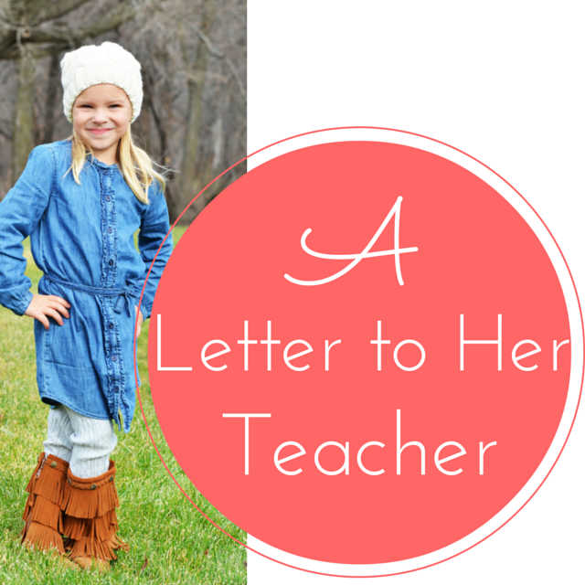 A Letter to my Daughter's (Future) Teacher - The Synapse